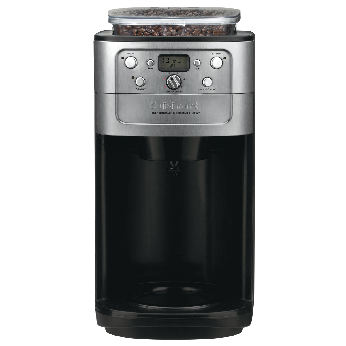 cuisinart grind and brew instructions