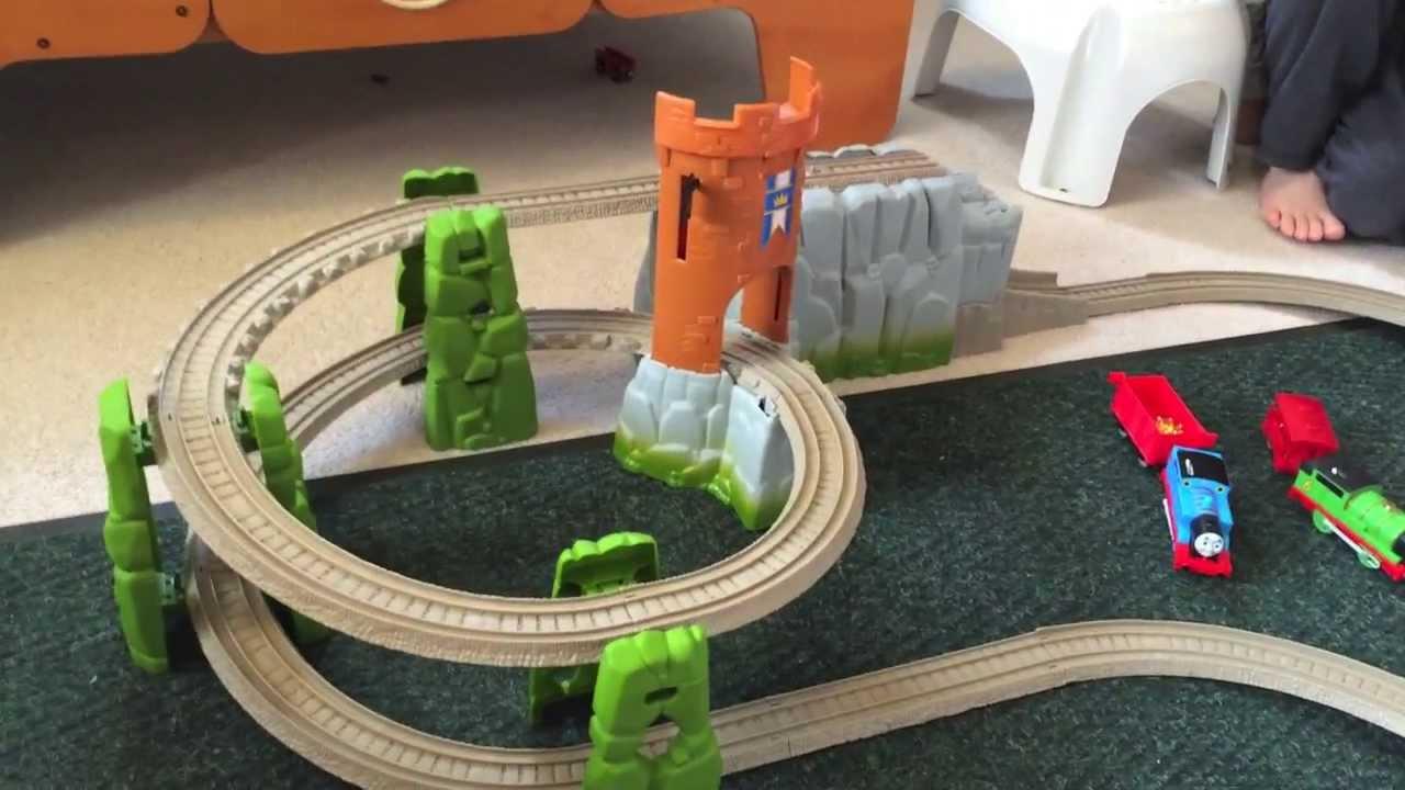 thomas plastic train set instructions