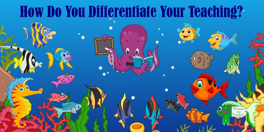 how do teachers differentiate instruction