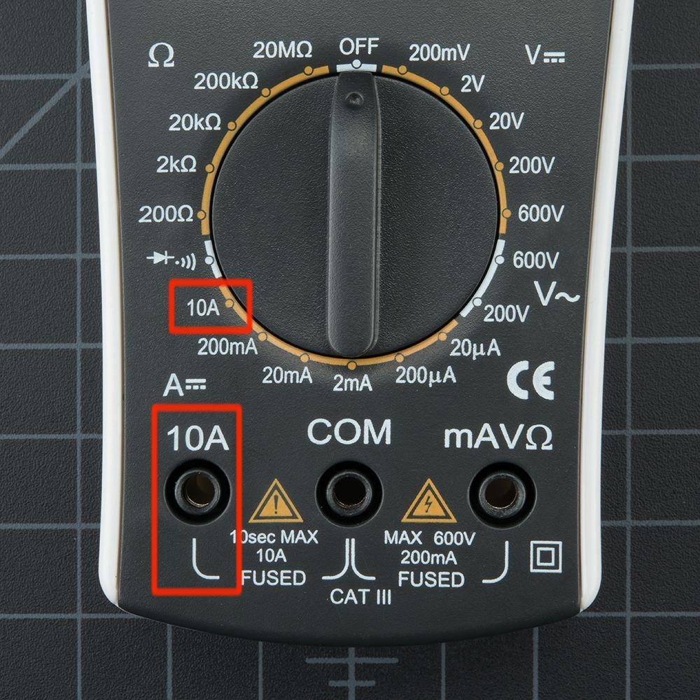 draper digital multimeter instructions