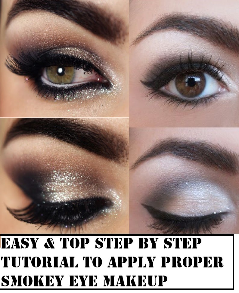 smokey eye makeup step by step instructions