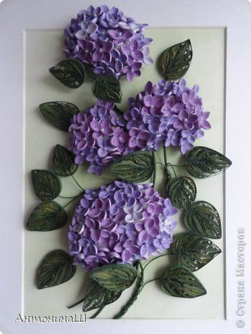 paint instructions for hydrangeas