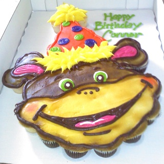 wilton monkey cake pan decorating instructions