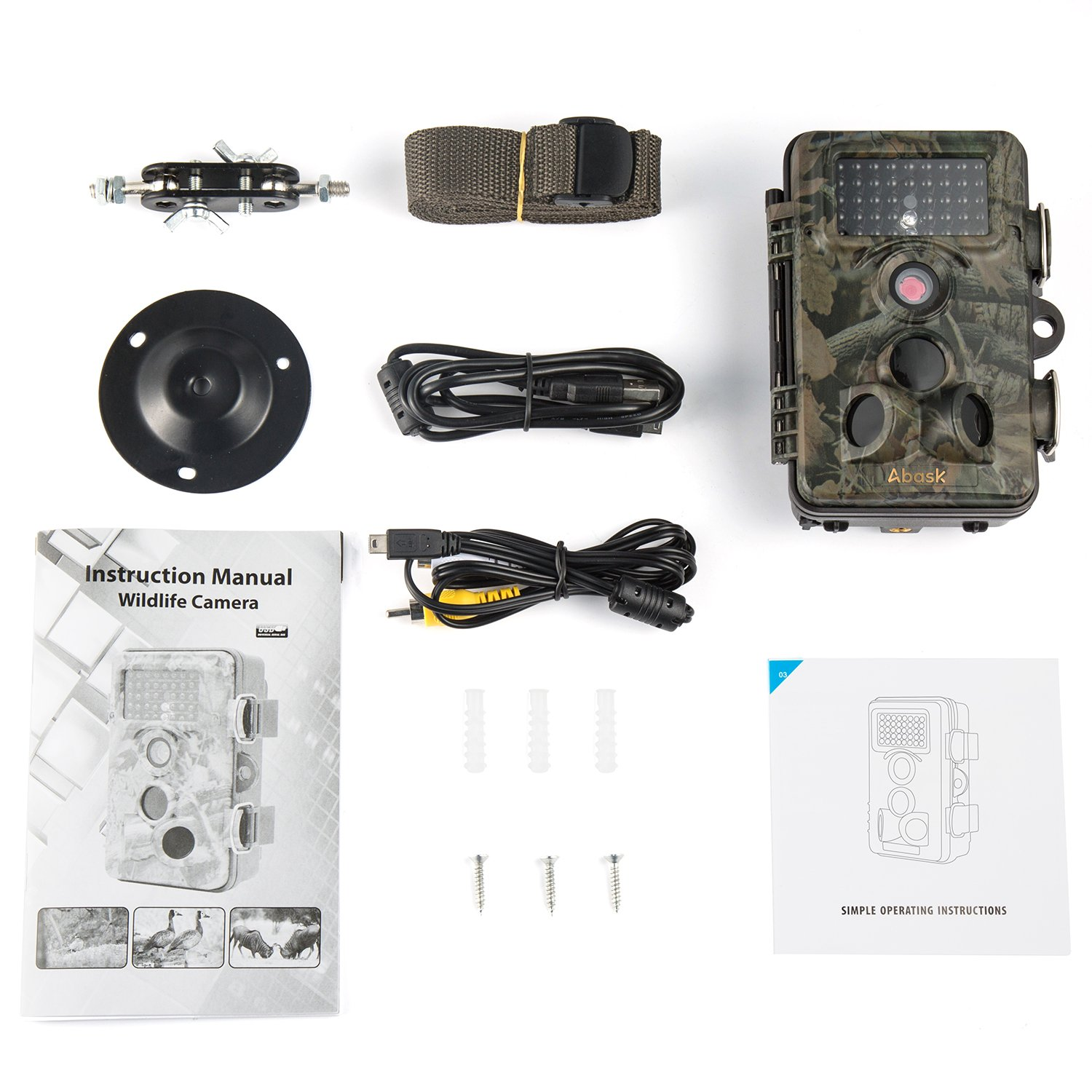 abask trail camera instructions