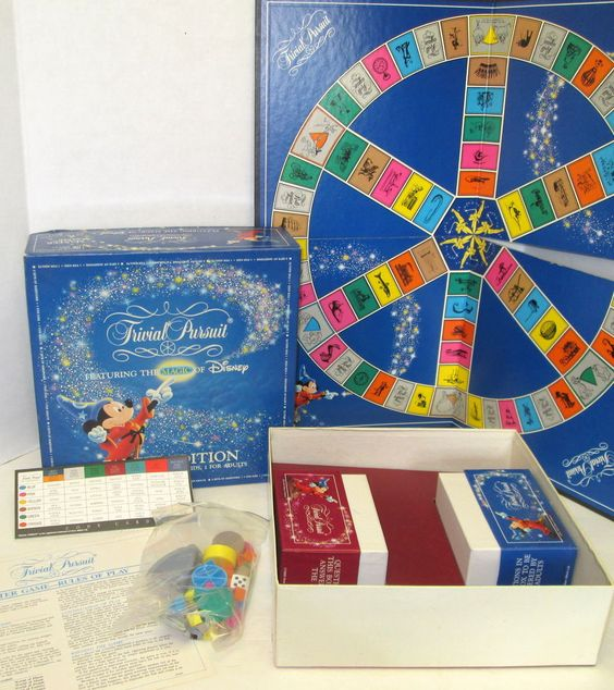 trivial pursuit disney for all instructions