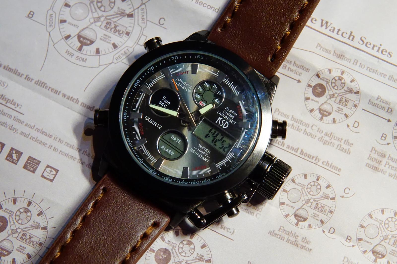 mambo digital watch instructions