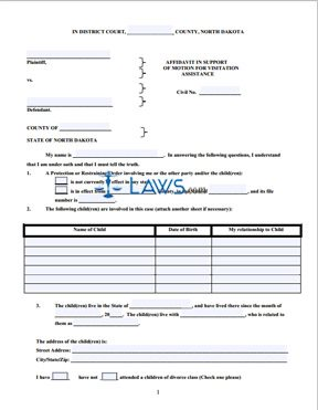 affidavit of support instructions