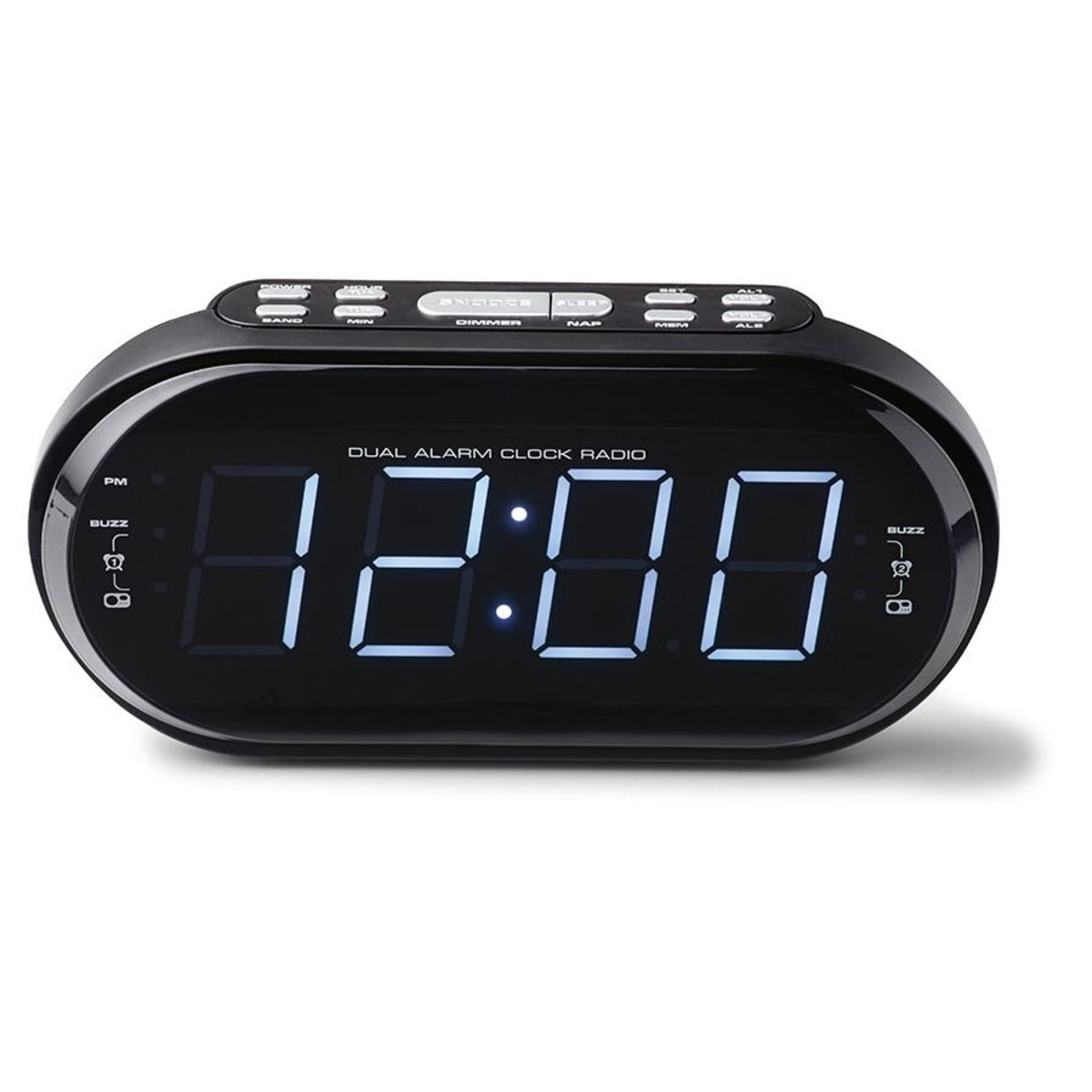 audiosonic big display alarm clock instructions