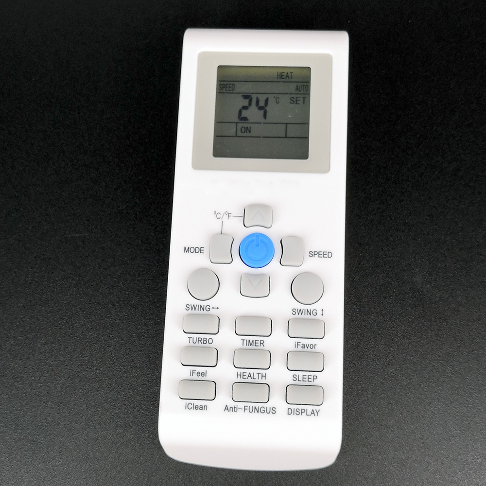 aux air conditioner remote control instructions