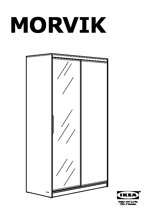 ikea morvik wardrobe assembly instructions