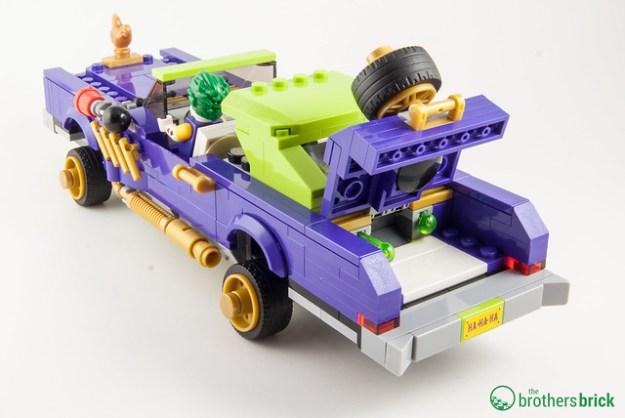 joker car lego instructions