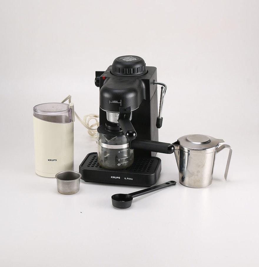 barista espresso machine instructions