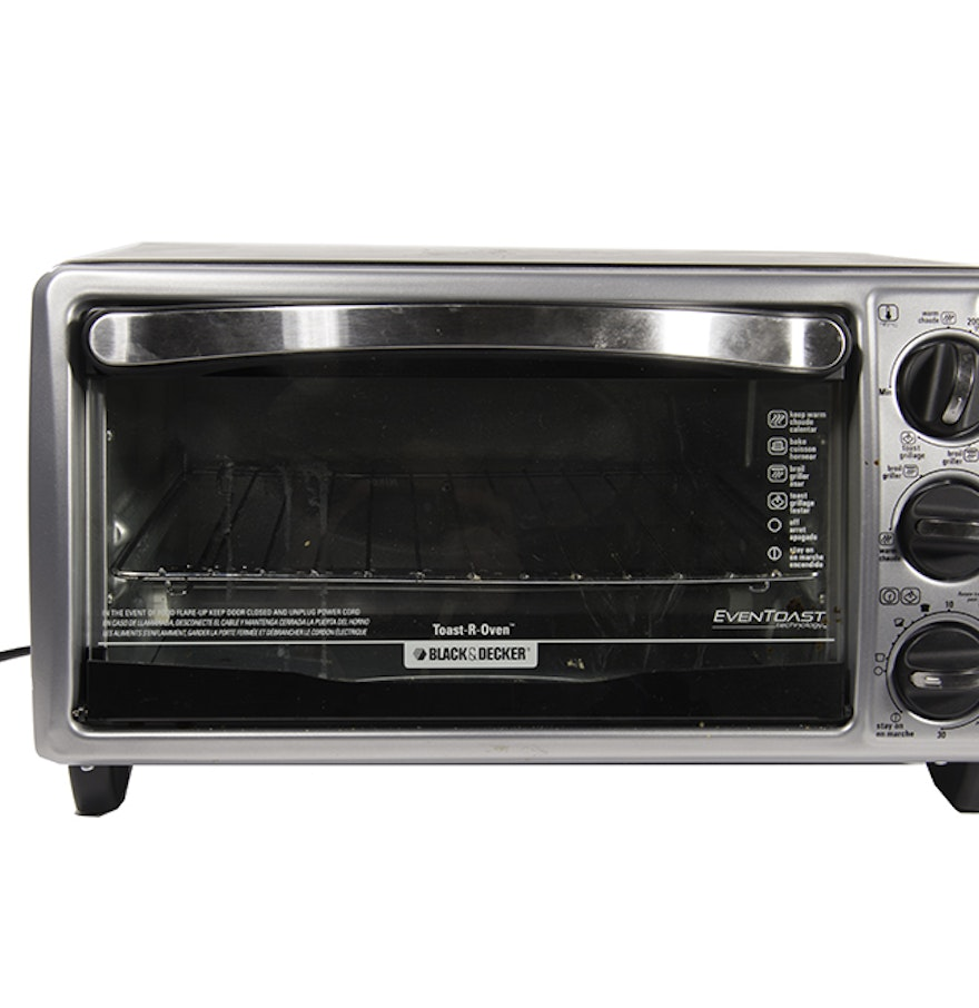 black and decker toast r oven instructions