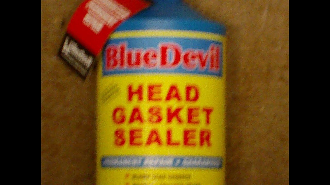 blue devil head gasket sealer instructions
