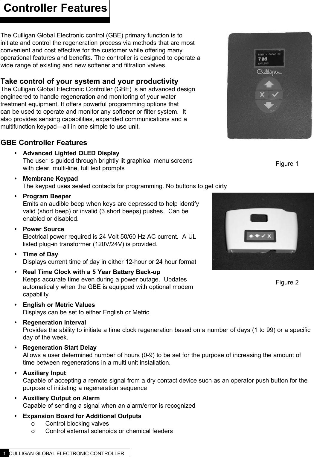 culligan water softener instruction manual