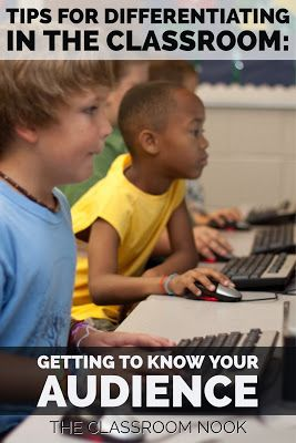 differentiating instruction with technology in k 5 classrooms