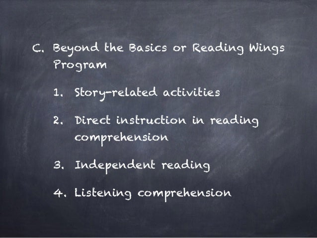 direct instruction reading intervention programs