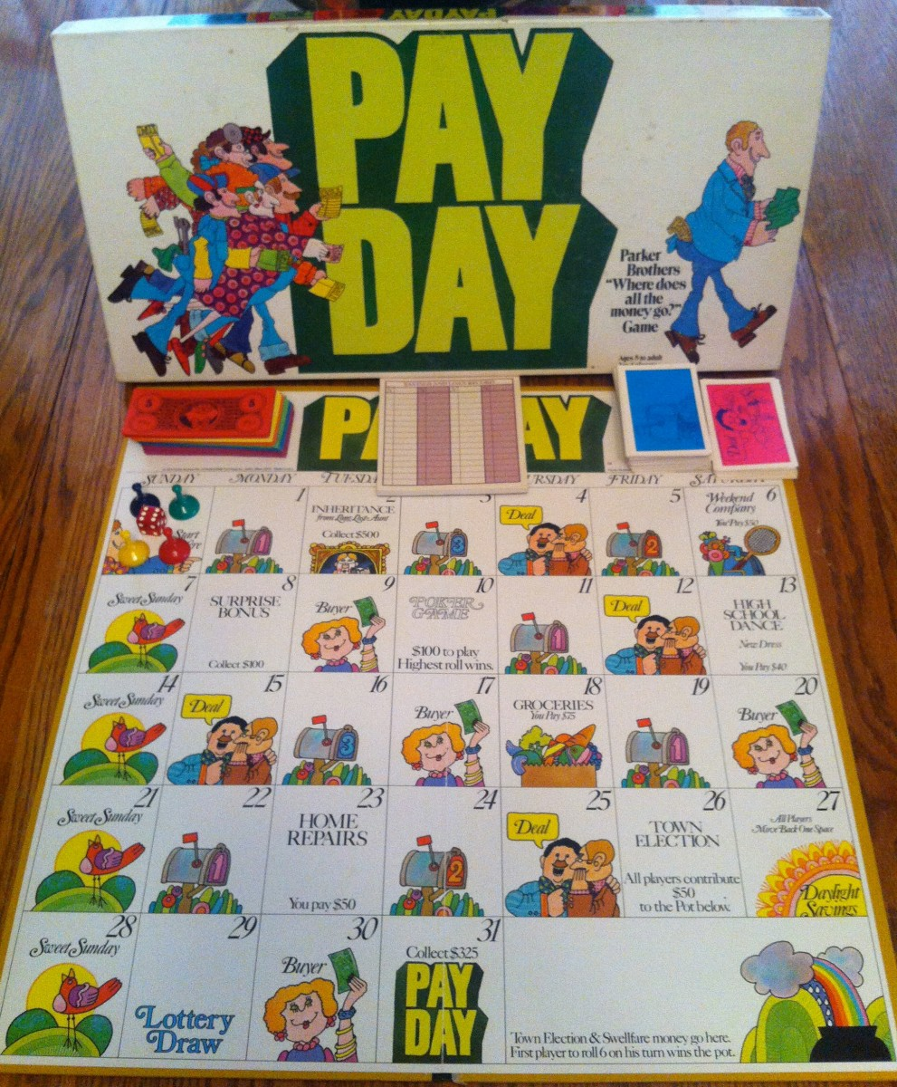 hasbro payday game instructions