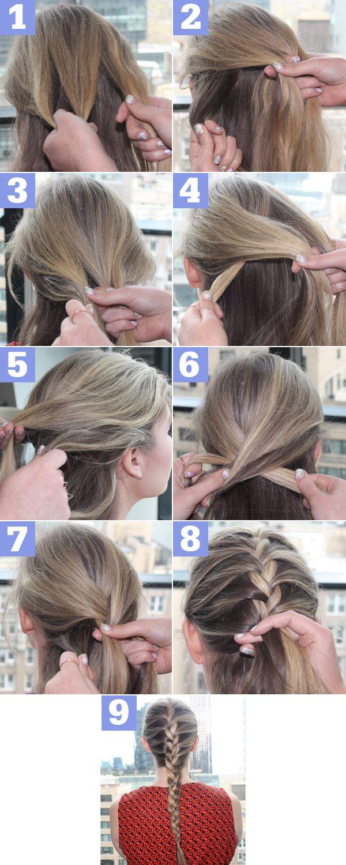 easy french braid instructions