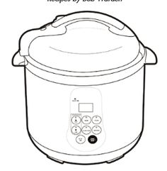tramontina pressure cooker instructions
