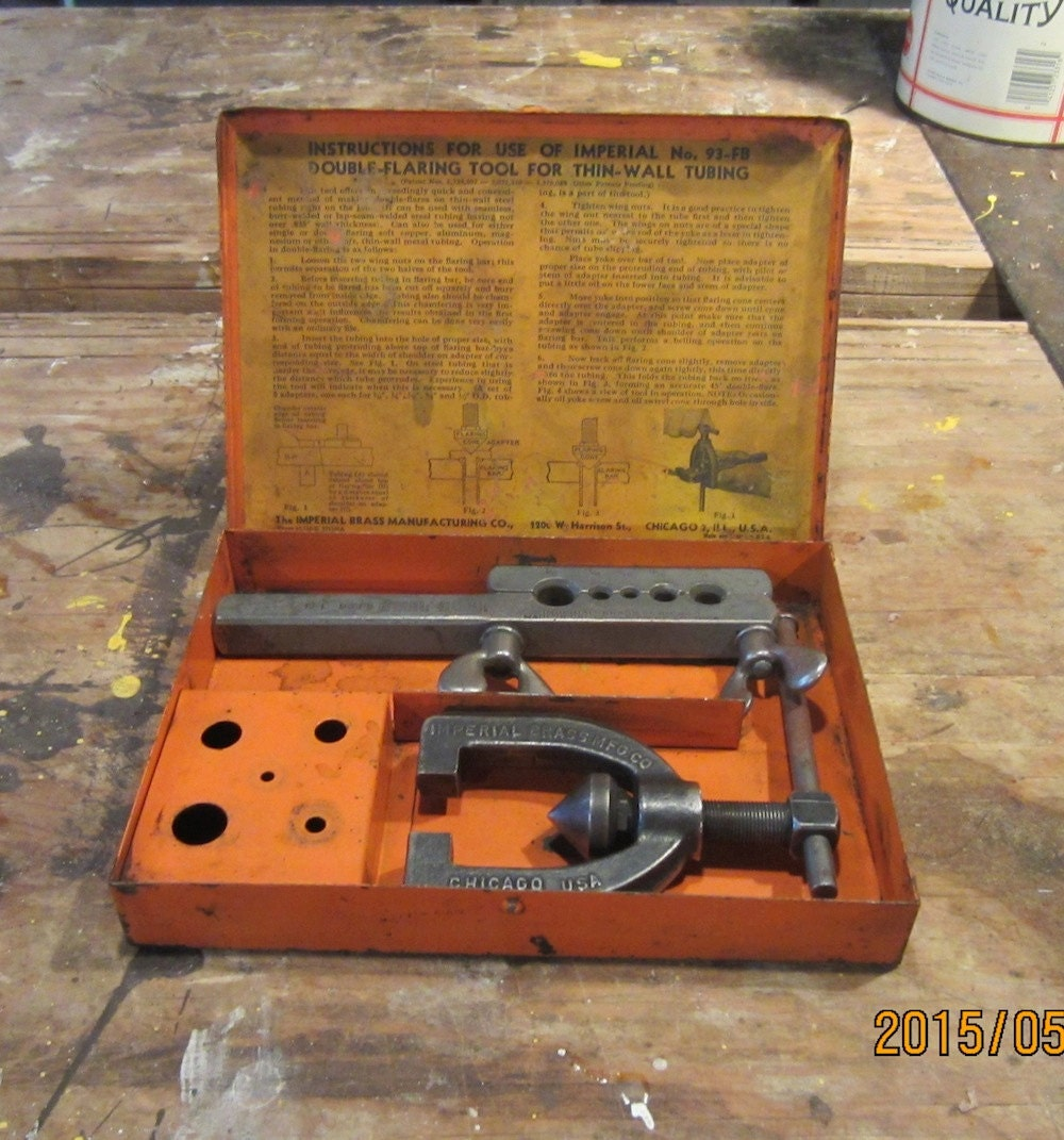 imperial eastman flaring tool instructions