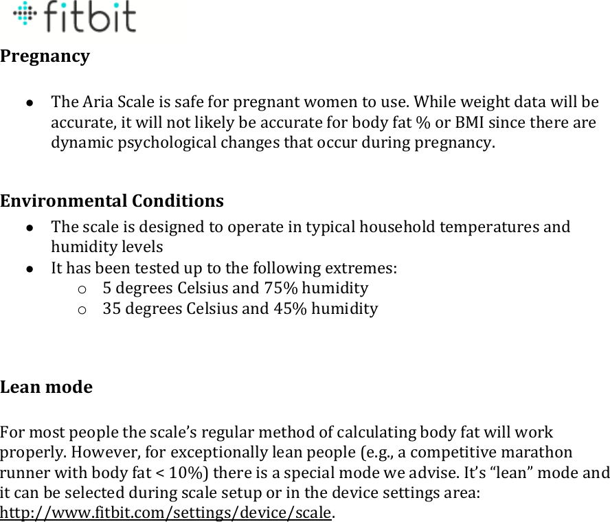 fitbit aria setup instructions
