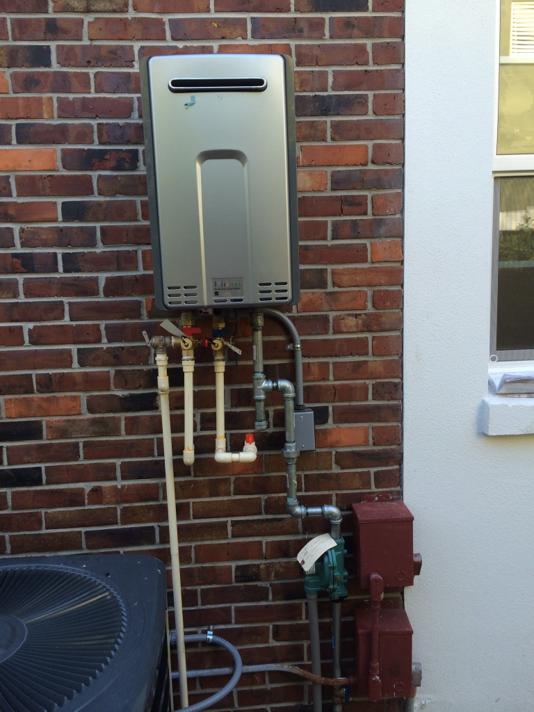gas tankless water heater installation instructions