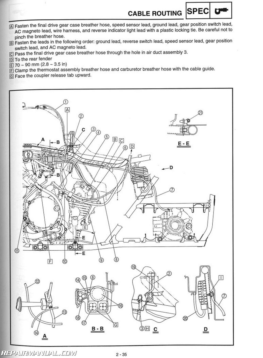 grizzly 700 snorkel instructions