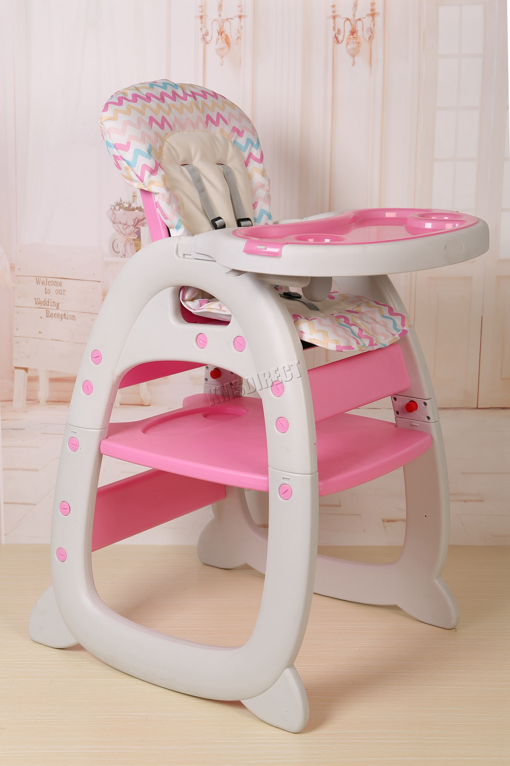 gro high chair harness instructions