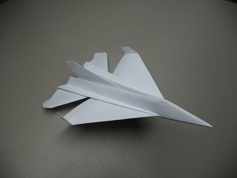 hammerhead paper plane instructions