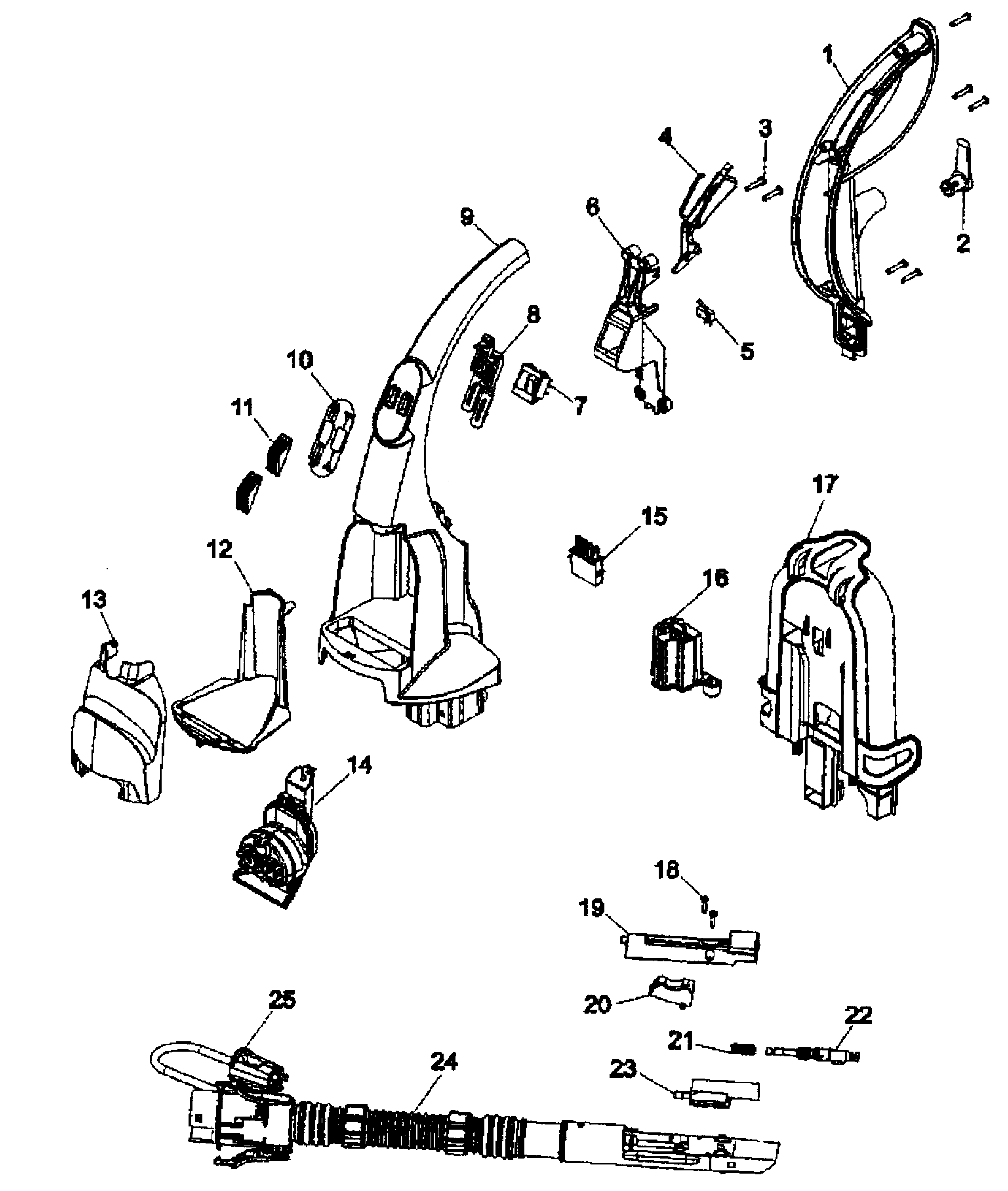 hoover dual v carpet cleaner instructions