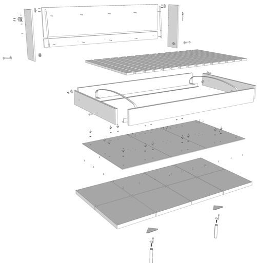 ikea bed building instructions