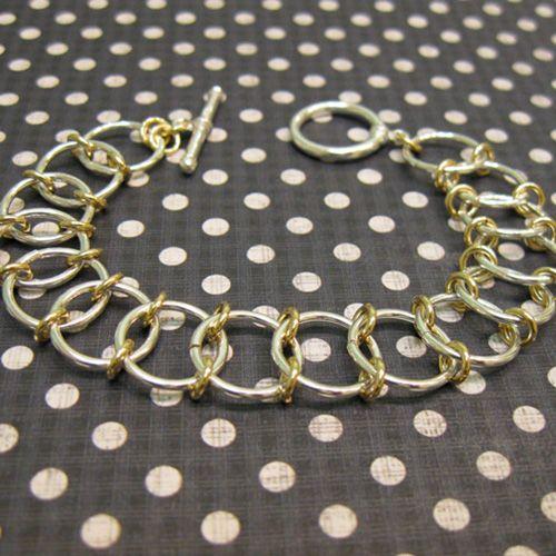 jump ring bracelet instructions