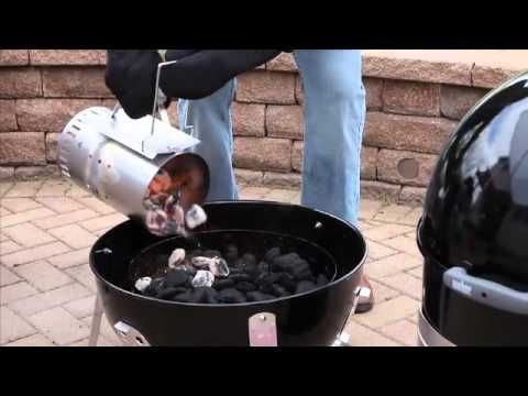 kingsford charcoal water smoker instructions