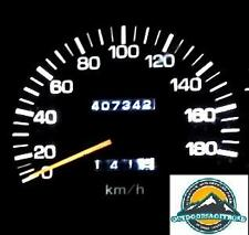 led speedometer watch instructions