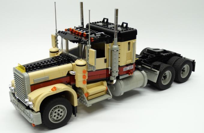 lego kenworth truck instructions