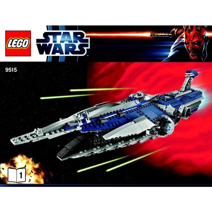 lego star wars malevolence instructions