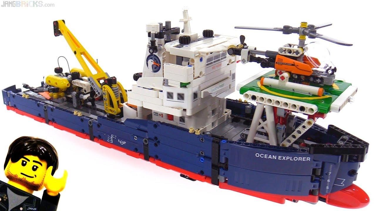 lego technic ocean explorer instructions