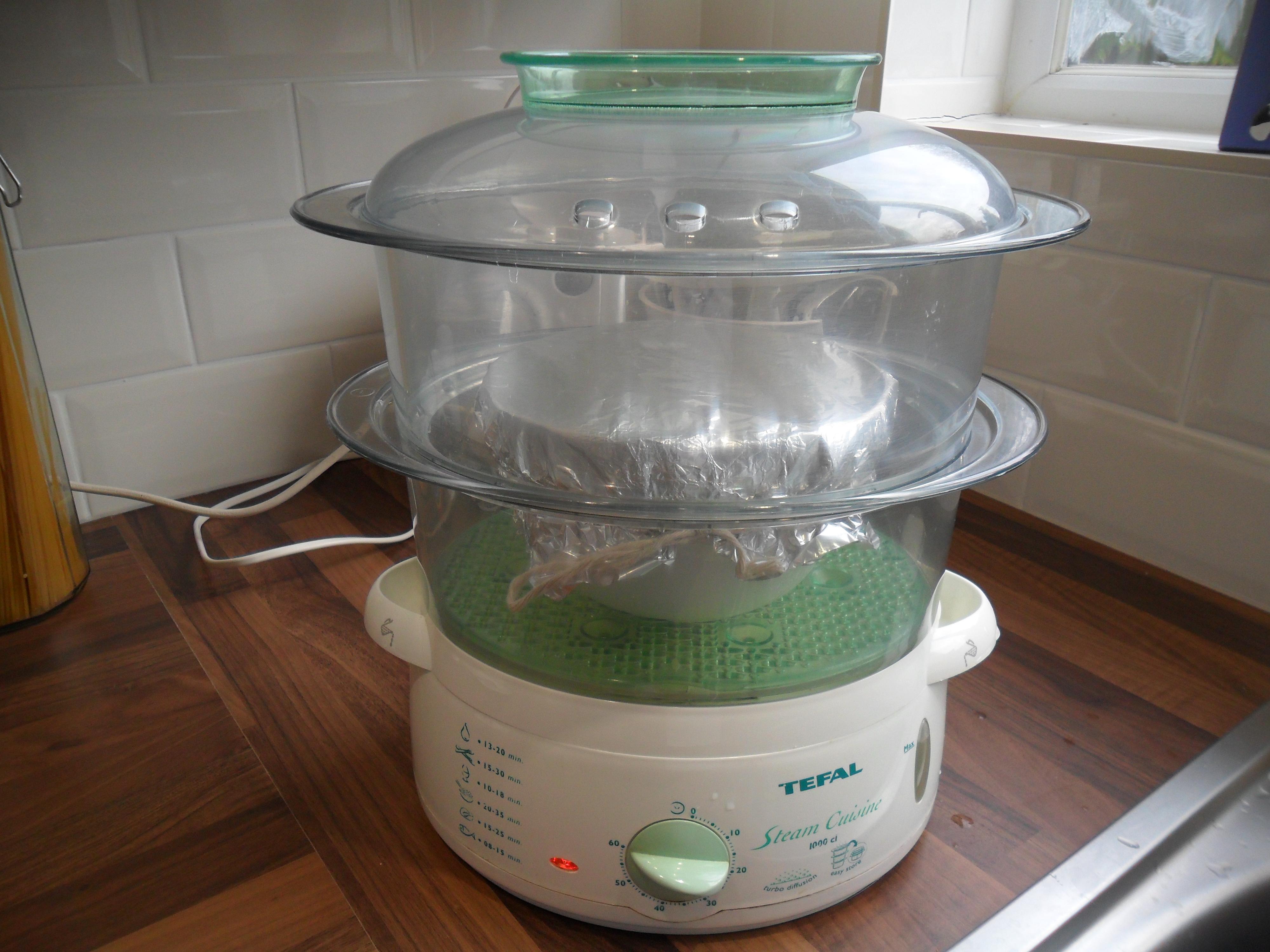 masterclass pudding steamer instructions