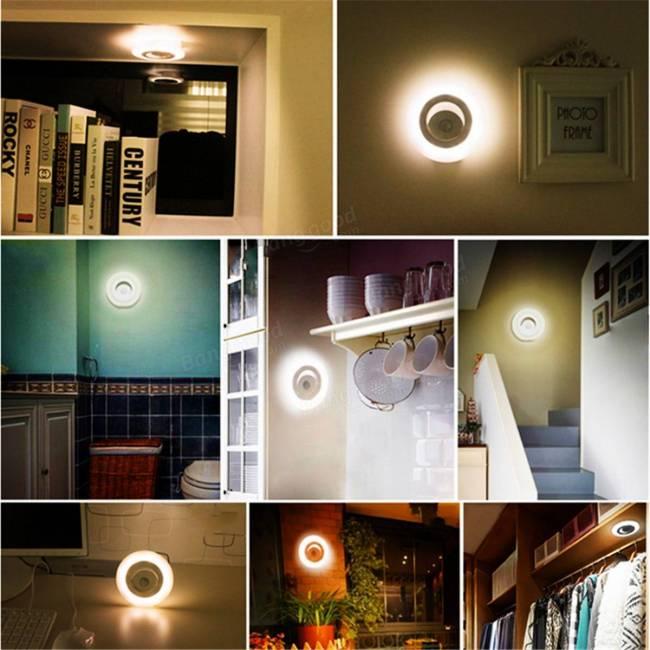 motion detector light instructions