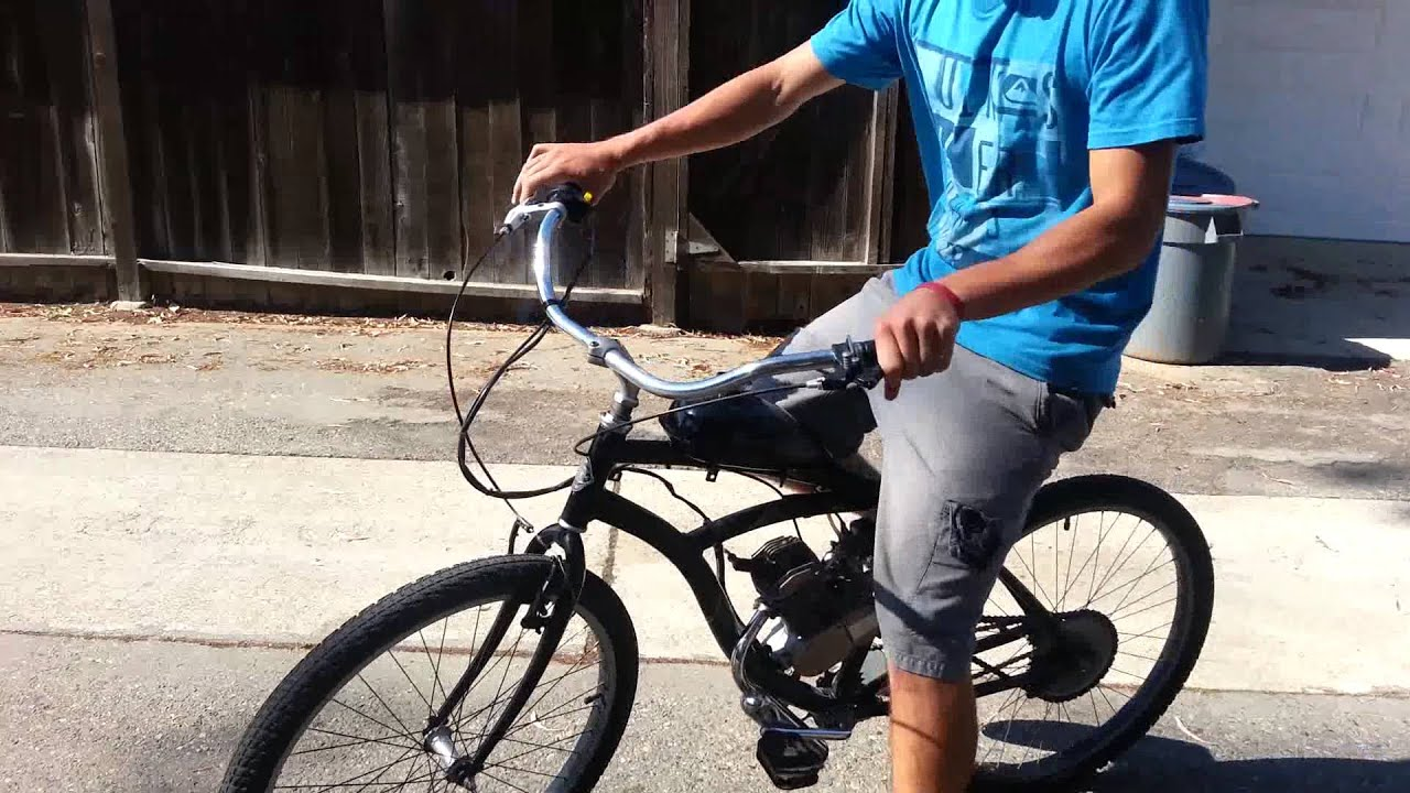 motorized bicycle installation instructions