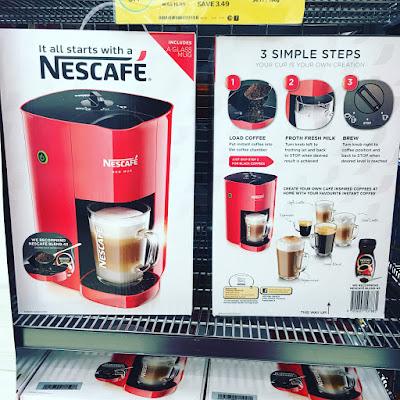 nescafe red mug coffee machine instructions