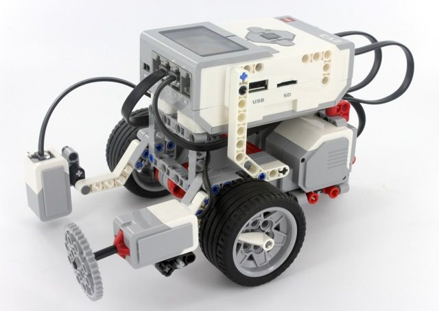 nxt ev3 building instructions
