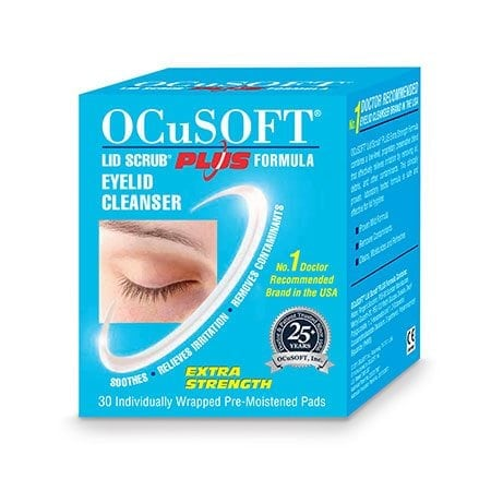 ocusoft lid scrub instructions