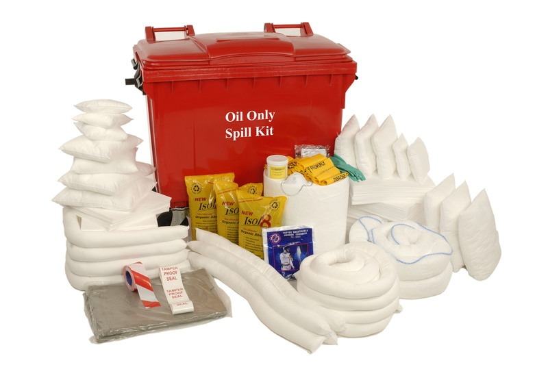 oil spill kit instructions