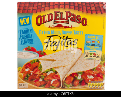 old el paso fajita kit instructions