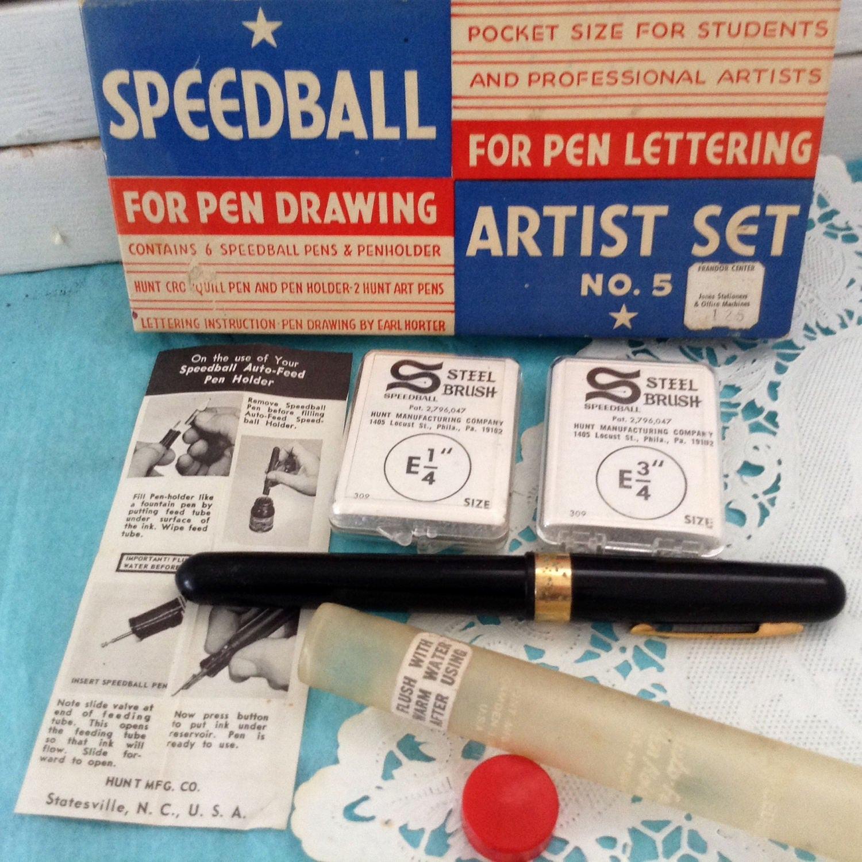 pentel brush pen instructions