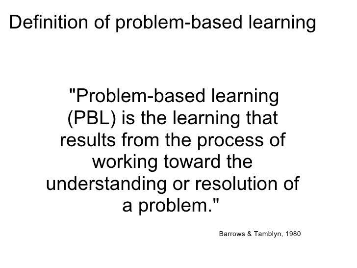 problem based instruction definition