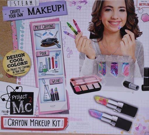 project mc2 crayon makeup science kit instructions