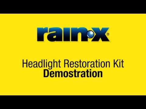 rain x headlight restoration kit instructions